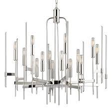 chandelier by hudson valley lighting 9916 pn