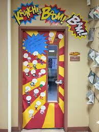 Halloween Classroom Door Decorations Pinterest by Superhero Classroom Doors Super Heroes Pinterest Superhero