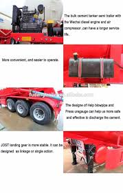 100 Bulk Truck And Transport Fudeng 3 Alxe Cement With Cheap Price Widely