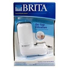 Culligan Water Filter Faucet Mount by Shop Brita Water Filtration Faucet Mount System White At Lowes Com