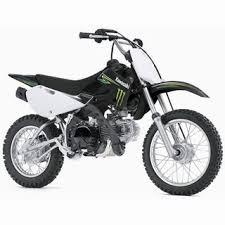 Kawasaki 110cc Dirt Bike KLX110 Monster Energy