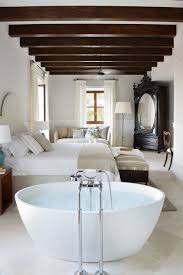 hotel bath ideas for the master bedroom open plan