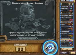 Hunter Deck Hearthstone June 2017 by Clockwork Card Dealer Standard Tavern Brawl 80 Tavern Brawl