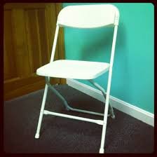 Event White Folding Chairs