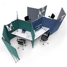 cloisonnette bureau cloison amovible benelux office