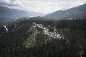 Whistler RV Park Campgrounds Aerial View Of And Campground