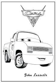 Free Printable American Muscle Car Coloring Pages Cars Disney Race