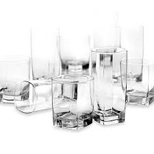 Image Of DailywareTM City Glass 16 Piece Drinkware Set