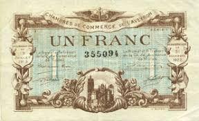 chambre de commerce rodez billets de necessite francais rodez et millau aveyron 12