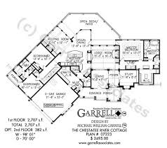 Chestatee River Cottage House Plan 07223 1st Floor
