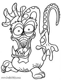 Halloween Frankenstein Printables Monster Scary Coloring Pages