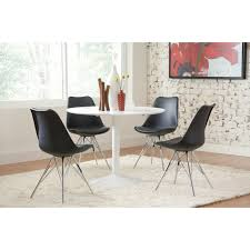100 Dress Up Dining Room Chairs Shop Lowry Midcentury Modern White Round Table Free