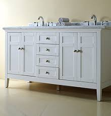 reni white double vanity 60 1000 incl granite counter top and
