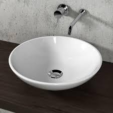olympia runde arbeitsplatte waschbecken 45 cm badezimmer