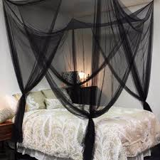 Black Canopy Bed Drapes by Curtains Deck Netting Mosquito Net Curtains Sunbrella Outdoor