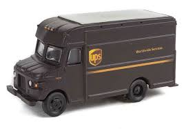 100 Ups Truck Toy Package Delivery UPSZ W UPS Modern Shield Logo Walthers