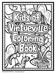Kids Of VirtueVille Coloring Pages PDF With Classroom License