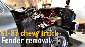 Fender Removal 81-87 Chevy Truck - YouTube 1981 Chevytruck Chevrolet Truck 81ct8036c Desert Valley Auto Parts All Of 7387 Chevy And Gmc Special Edition Pickup Trucks Part I C10 Obsession Custom Truckin Magazine Chrome Yellow The Guy Heater Ac Controls 1955 Second Series Chevygmc Brothers Classic Silverado Blue Over 350 Like It Alot 7887 Best Resource For Sale 1984 Scottsdale C20 Youtube Busted Knuckles Stepside 1949