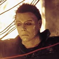 Michael Myers Actor Halloween Resurrection by Cool Horror Michael Myers Fights Busta Rhymes Arrow In