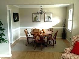 Chair Rail Dining Room Paint Ideas Inspirational With