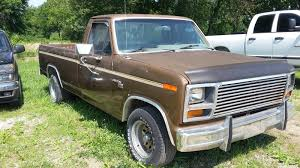 1980 Ford F-100 - Overview - CarGurus 1980s Ford Trucks Lovely 1985 F 150 44 Maintenance Restoration Of L Series Wikipedia Red Ford F150 1980 Ray Pinterest Trucks And Cars American History First Pickup Truck In America Cj Pony Parts Compact Pickup Truck Segment Has Been Displaced By Larger Hemmings Find Of The Day 1987 F250 Bigfoot Cr Daily Fseries Eighth Generation 1984 An Exhaustive List Body Style Ferences Motor Company Timeline Fordcom 4wheeler Sales Brochure