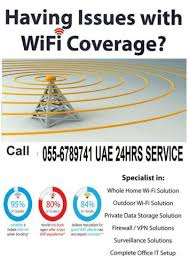 Home Internet Wifi Router Setup Service Near Me Dubai
