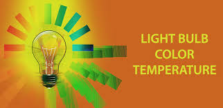 what is light bulb color temperature and how it is measured