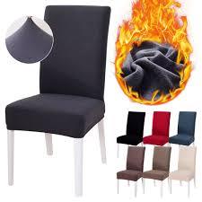 1 2 4 6 stücke stoff stuhl abdeckung für esszimmer stühle