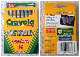Crayola Bathtub Crayons Collection by Crayola Metallic Fx And Metallic Effect Crayons What U0027s Inside The