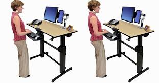 Ergotron Sit Stand Desk by Ergotron Workfit D Sit Stand Desk 17 Gallery Image And Wallpaper