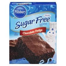 Pillsbury Sugar Free Chocolate Fudge Brownie Mix 12 35oz Tar