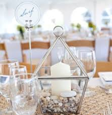 Elegant Wedding Centerpieces Without Flowers 34 Creative Non Floral Weddingomania
