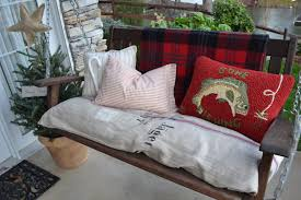 Baroque porch swing cushions Innovative Designs for Porch Traditional