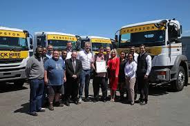 Kempston Truck Hire And FUSO Trucks Celebrate A Milestone In 2017 ...