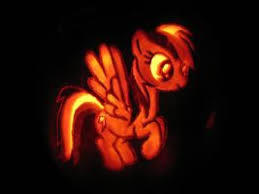 Easy Rainbow Dash Pumpkin Stencil by Rainbow Dash Pumpkin Stencils Image Tips
