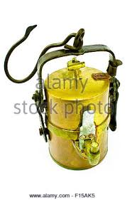 Carbide Miners Lamp Fuel by Antique Miners Lamp Brass Container Stock Photo Royalty Free