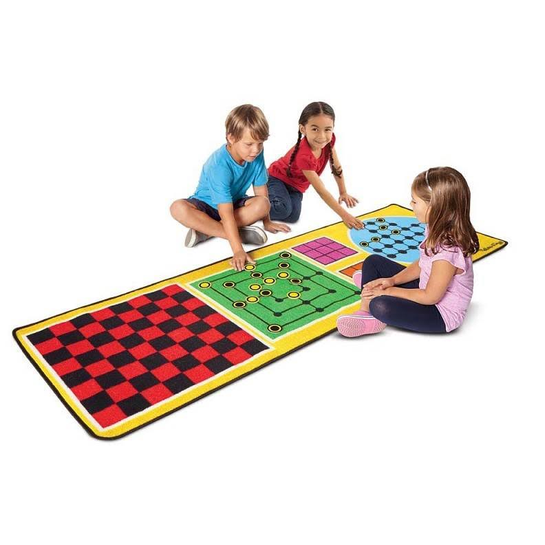 Melissa and Doug 4-in-1 Game Rug