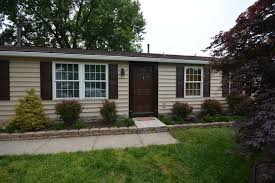 One Story House Exterior Traditional With