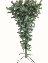 4 Umbrella Upside Down Dark Green Tree PVC