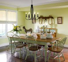 Rustic Country Dining Room Ideas by Rustic Dining Room Ideas Brown Wall Wooden Round Coffee Table