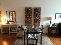 Rustic Dining Room Images by Rustic Dining Room With Interior Wallpaper U0026 Hardwood Floors In