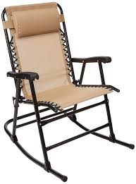 AmazonBasics Outdoor Patio Folding Rocking Chair, Beige Gci Outdoor Freestyle Rocker Portable Folding Rocking Chair Smooth Glide Lweight Padded For Indoor And Support 300lbs Lacarno Patio Festival Beige Metal Schaffer With Cushion Us 2717 5 Offrocking Recliner For Elderly People Japanese Style Armrest Modern Lounge Chairin Outsunny Table Seating Set Cream White In Stansport Team Realtree 178647 Wooden Gci Ozark Trail Zero Gravity Porch
