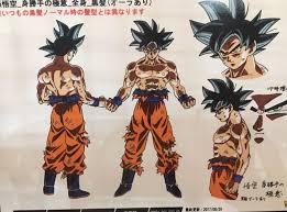 Goku Ultra Instinct By Toei Animation 5 Dragon Ball Super DBS