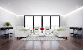 luxus lounge und wohnzimmer und weißen holzwand hintergrund