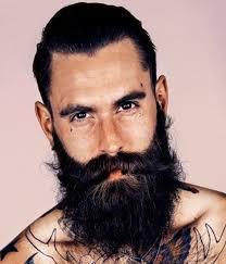 Long Chin Curtain Beard by Beard Styles For Men