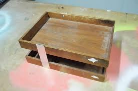 brilliant diy wood desk organizer item d and decor