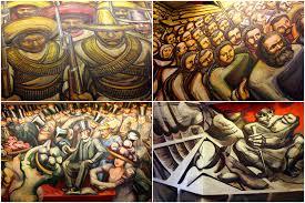 david alfaro siqueiros mural castillo esperanza en mexico flickr