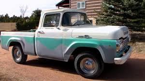 1959 1957 1958 1960 Ford Fridge F100 Truck