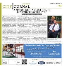 Murray City Journal - OCT 2017 By My City Journals - Issuu Teen Driver Dies In Tbone Collision Near Diamond Valley St George Truck Owned By Doug Stubbs Great Falls Montana Homemade Canopy Murray Journal August 2017 My City Journals Issuu West December Manitex Cranes And Boom Trucks Idaho 20846552 Vehicles Of Adot Bucket Iermountain Tow Service 640 N Main Ste 1254 North Salt Lake Models Kitbashes Nightowlmodeler Imrc Cabforwards 10 Years Rigging Heavy Haul Company Details Move Any Cot Safely Macs Ambulance Lift Baatric Toys Hobbies Other Ho Scale Find Kibri Products Online At