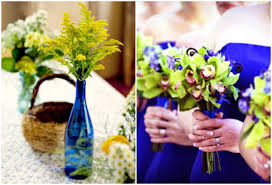 Royal Blue Theme Wedding Decorations For Weddings